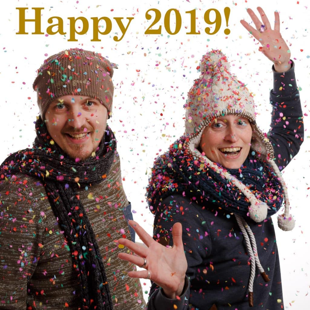 Nieuwjaarskaart 2018/2019